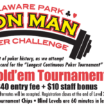 Delaware Park Iron Man Poker Challenge