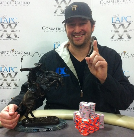 Phil Hellmuth victorious
