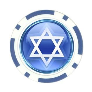 Jewish poker chip