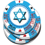 Jewish poker logo