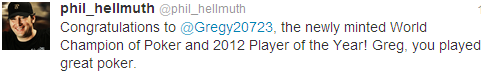 Hellmuth Tweets to Merson