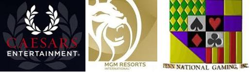 Penn, Caesars, MGM