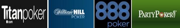 Online poker company logos
