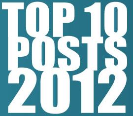 Top 10 Posts 2012