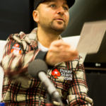 Daniel Negreanu signs an autograph