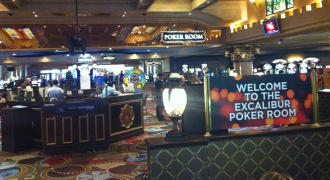 Excalibur poker room