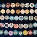 Poker chip collection