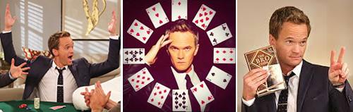 Barney Stinson poker