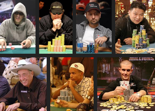 List of most famous poker players