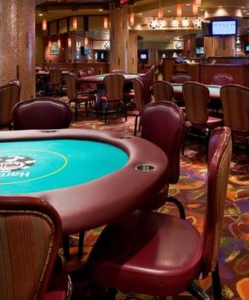 Harrahs AC poker room