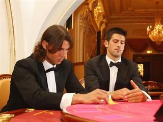 Djokovic Nadal poker