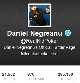 Daniel Negreanu Twitter