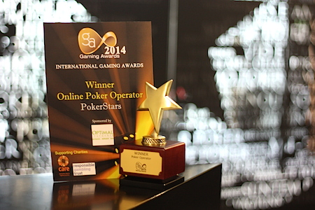 PokerStars gaming award