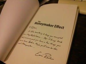 Moneymaker Effect signed