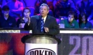 Mike Sexton speaking