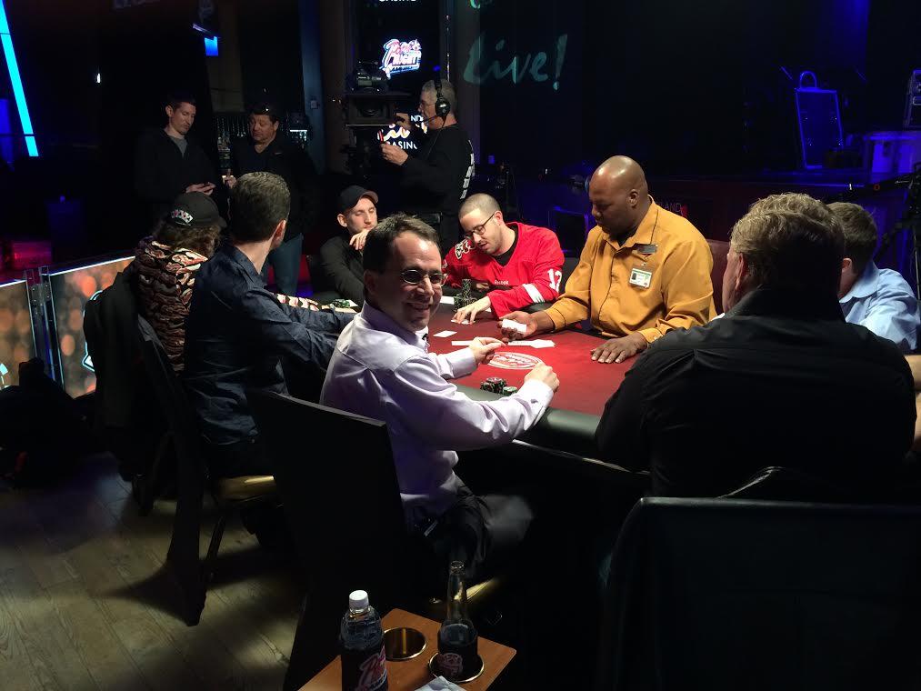 Avi Rubin at Poker Night in America