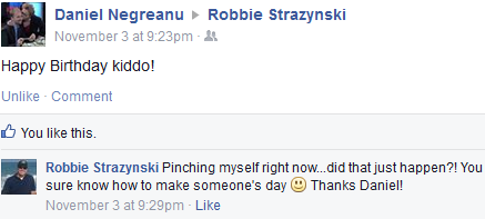 Daniel Negreanu birthday wishes