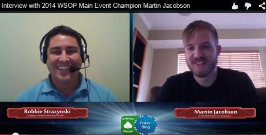 Martin Jacobson Q&A Interview screenshot