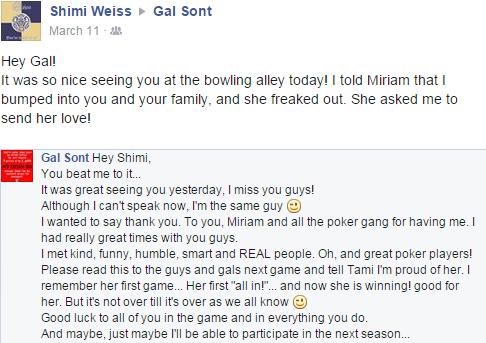 Gal talking to Shimi