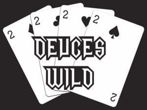 Deuces wild holdem foldem poker