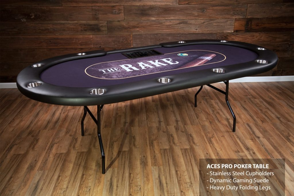 folding poker table