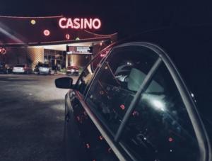 Andrew Neeme outside casino
