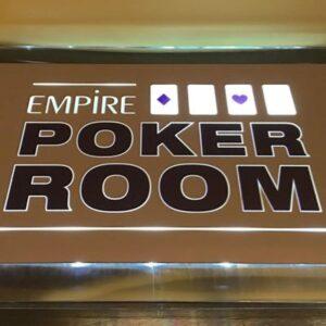 Empire poker room London