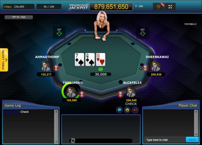 12Bet Poker - VIP Table