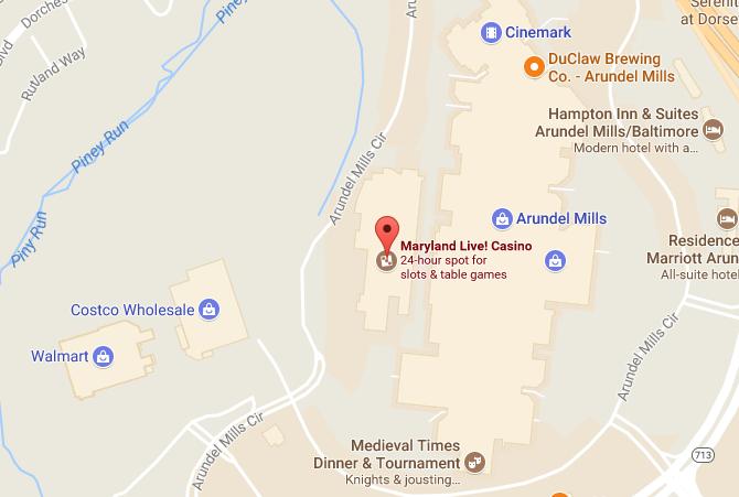 Arundel Mills Maryland Live