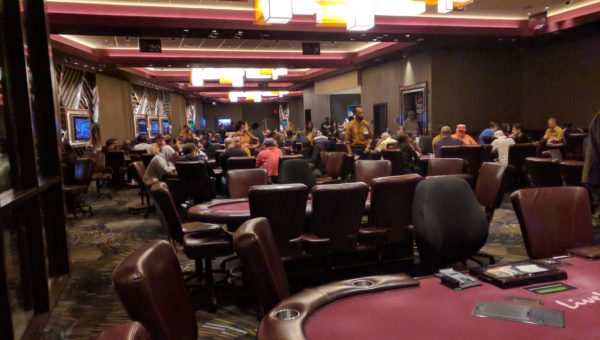 Maryland Live poker room