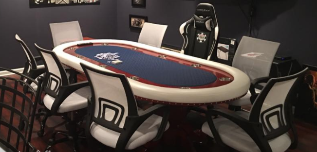 poker table chairs