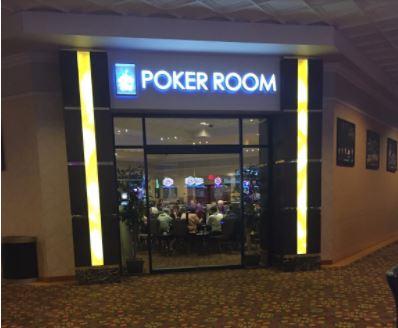 Agua Caliente poker room
