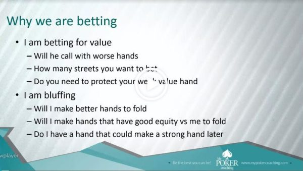 C-betting and barreling why are we betting