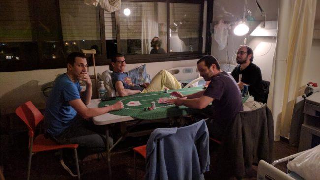 hospital poker