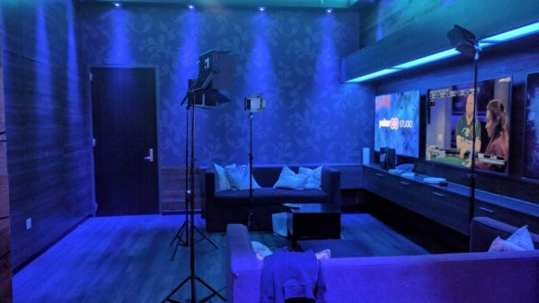 PokerGO studio player lounge