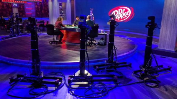 PokerGO Studio robotic cameras