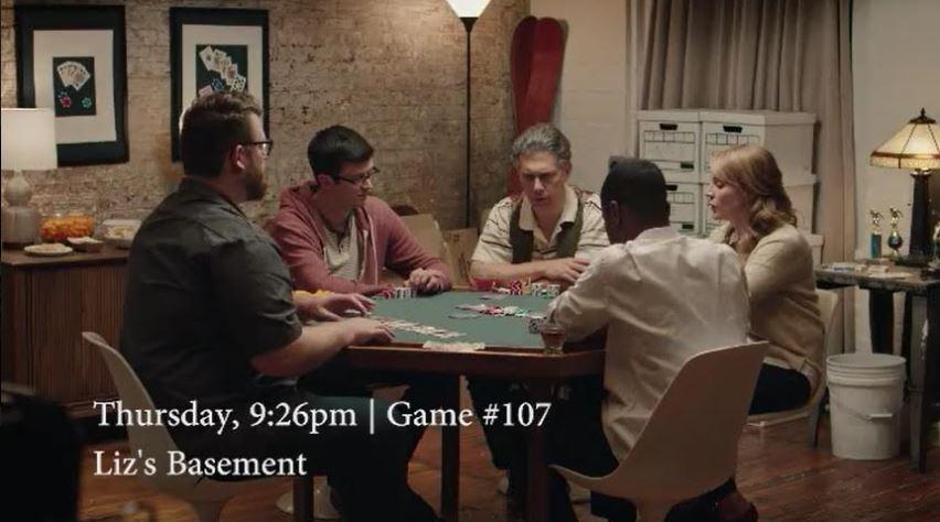 Poker Nights Liz's basement
