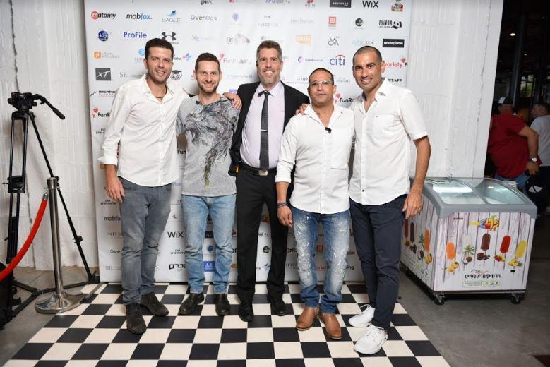 Israel charity poker team organizers