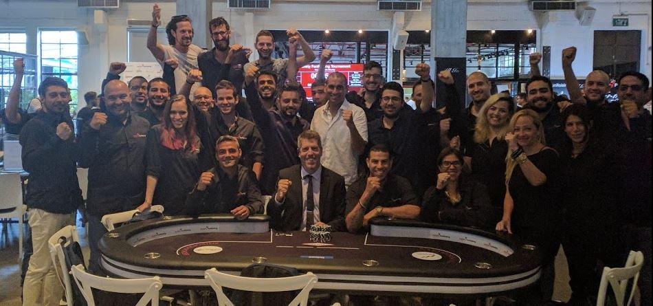 Israel Poker academy staff