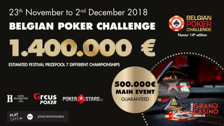 Belgian Poker Challenge 2018