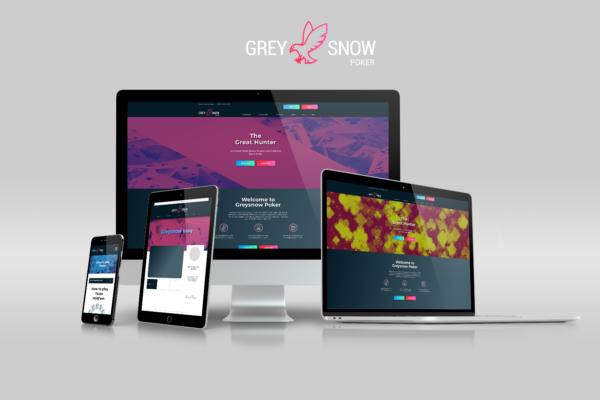 Grey Snow Poker screen