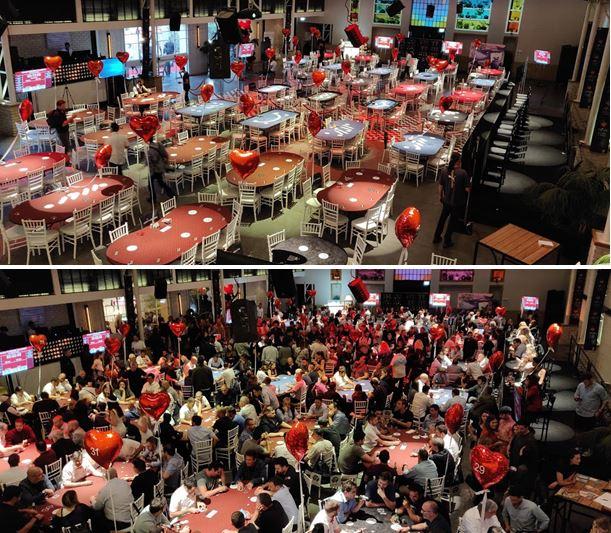 Israel charity poker tournament
