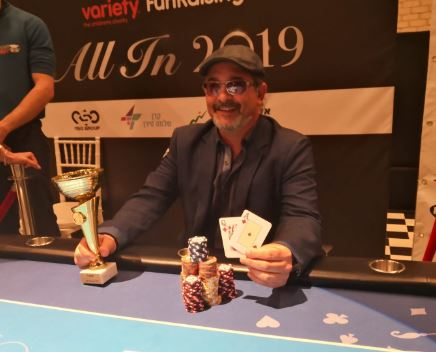 Dudi Margi Variety charity poker tournament