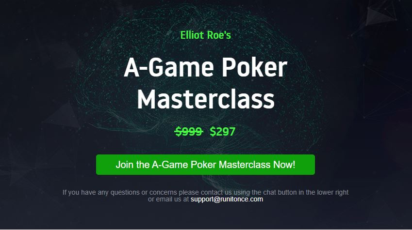 Elliot Roe A-Game Master Class