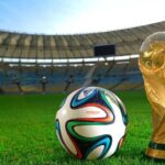 Soccer's World Cup trophy