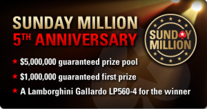 Sunday Million 5th Anniversary