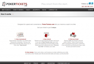 PokerTickets Website