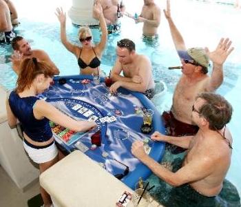 Jersey Shore Gaming Heats Up This Winter As Poolside Blackjack Debuts In Atlantic City