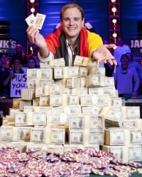 2011 WSOP Main Event Champion Pius Heinz