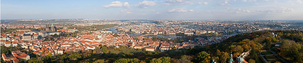 Prague: A Bird's Eye View